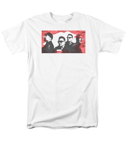 U2 Graffiti Tribute Men's T-Shirt  (Regular Fit) by Dan Sproul
