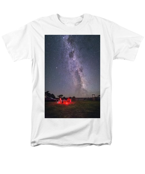Under Southern Stars Men's T-Shirt  (Regular Fit) by Alex Conu