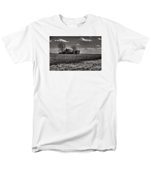 Men's T-Shirt  (Regular Fit) featuring the digital art Under The Crush Of The Lowering Sky by William Fields