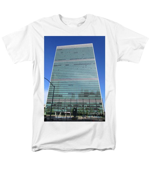 Men's T-Shirt  (Regular Fit) featuring the photograph United Nations 3 by Randall Weidner