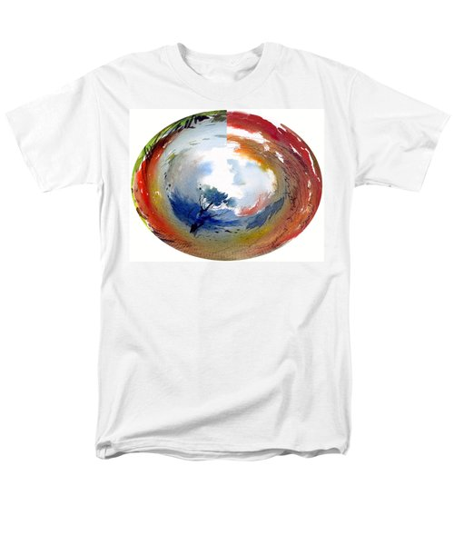 Universe Men's T-Shirt  (Regular Fit) by Anil Nene