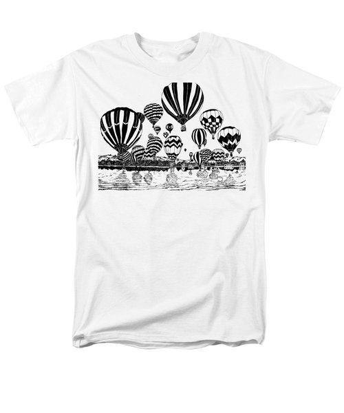 Up In The Air Men's T-Shirt  (Regular Fit) by Vicki  Housel