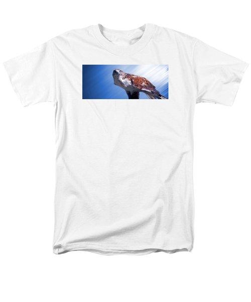 Upon His Perch Men's T-Shirt  (Regular Fit) by Greg Slocum