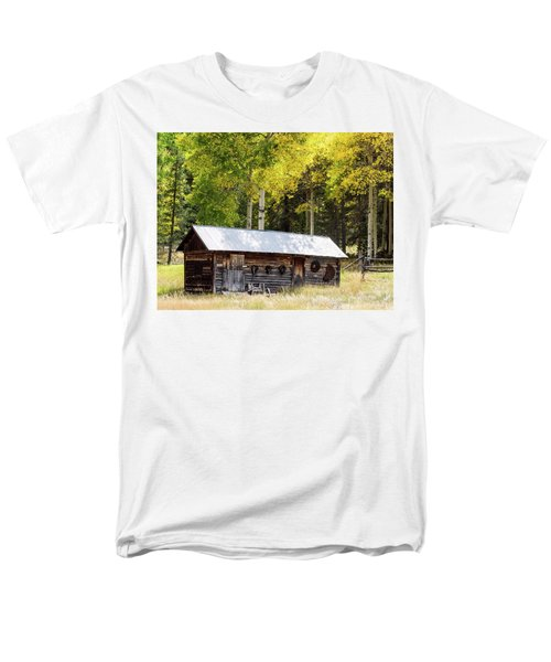 Uptop A Colorado Ghost Town Men's T-Shirt  (Regular Fit) by Nadja Rider