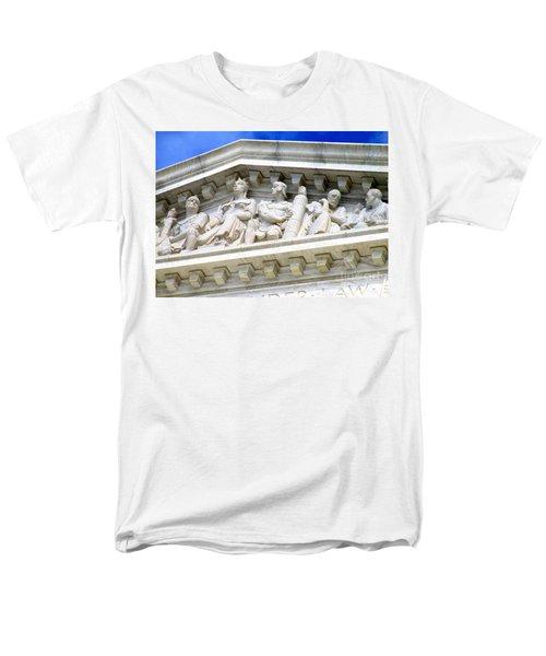 Us Supreme Court 4 Men's T-Shirt  (Regular Fit) by Randall Weidner