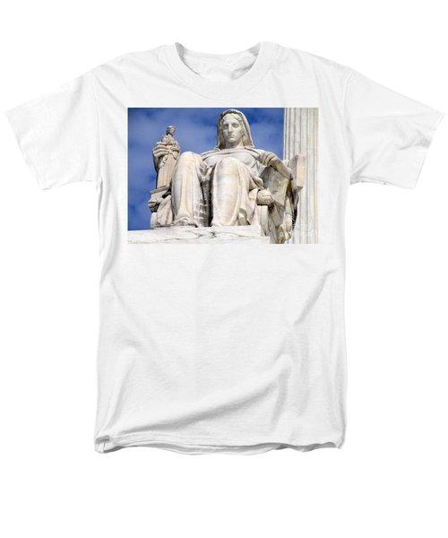 Us Supreme Court 7 Men's T-Shirt  (Regular Fit) by Randall Weidner