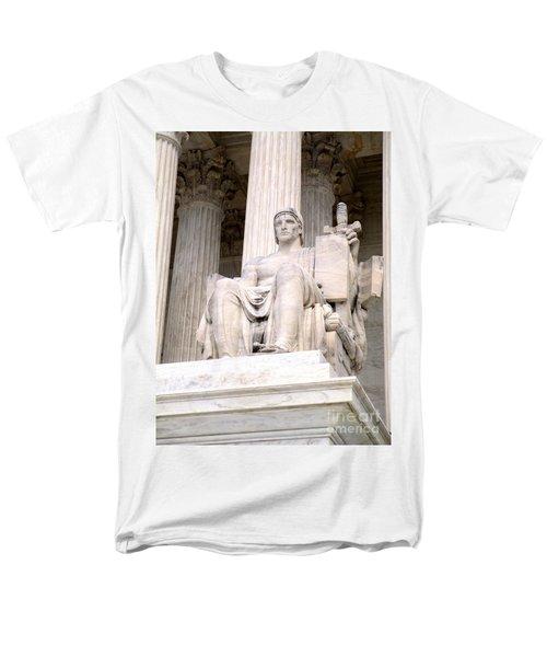 Us Supreme Court 8 Men's T-Shirt  (Regular Fit) by Randall Weidner