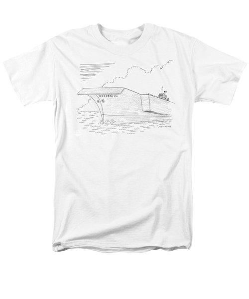 U.s.s. Deja Vu Men's T-Shirt  (Regular Fit) by Mick Stevens