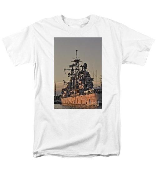 Men's T-Shirt  (Regular Fit) featuring the photograph U.s.s Little Rock by Jim Lepard