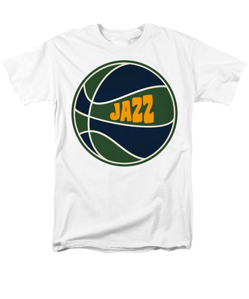 Utah Jazz Retro Shirt Men's T-Shirt  (Regular Fit) by Joe Hamilton