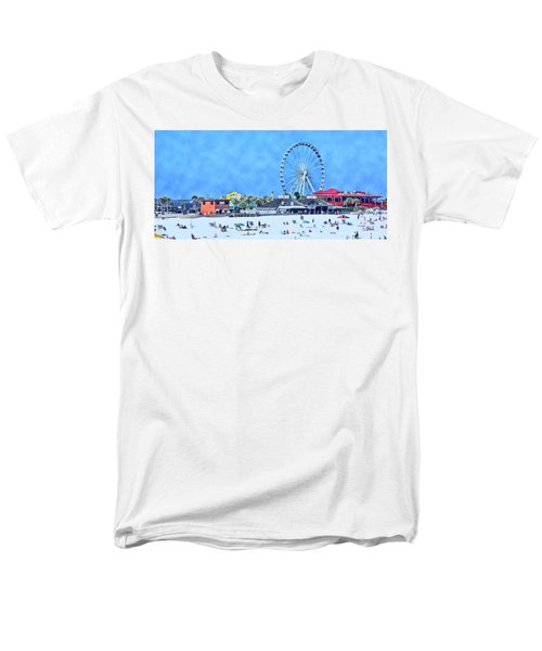 Men's T-Shirt  (Regular Fit) featuring the photograph Vacation by Kathy Bassett