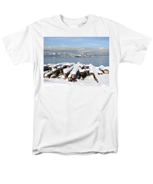 Vancouver Winter Men's T-Shirt  (Regular Fit) by Brian Chase