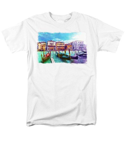 Venice Men's T-Shirt  (Regular Fit) by Marian Voicu