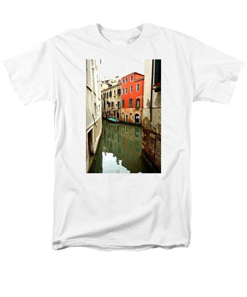 Venice Street Scene 3 Men's T-Shirt  (Regular Fit) by Richard Ortolano