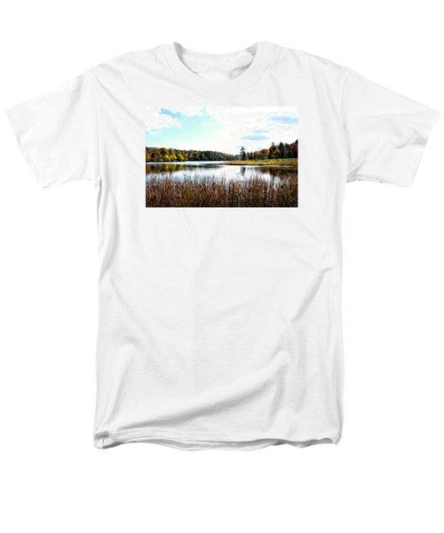 Vermont Scenery Men's T-Shirt  (Regular Fit) by Rena Trepanier