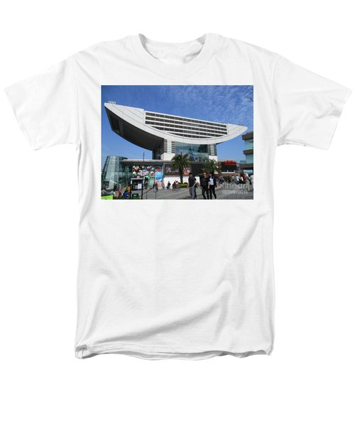 Men's T-Shirt  (Regular Fit) featuring the photograph Victoria Peak 3 by Randall Weidner