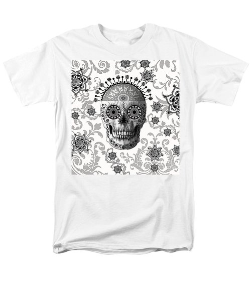 Victorian Bones Men's T-Shirt  (Regular Fit) by Christopher Beikmann