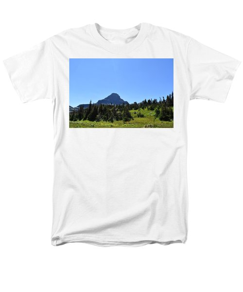 Men's T-Shirt  (Regular Fit) featuring the photograph View From Logan's Pass by Dacia Doroff