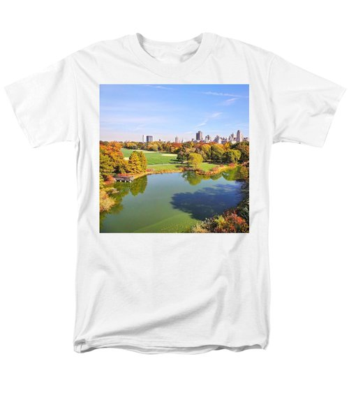 View From The Top  Men's T-Shirt  (Regular Fit) by Charlie Cliques