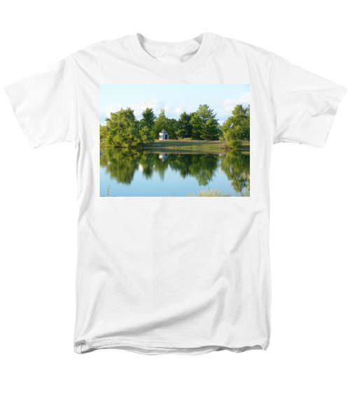 Men's T-Shirt  (Regular Fit) featuring the photograph Village In Ohio by Donald C Morgan