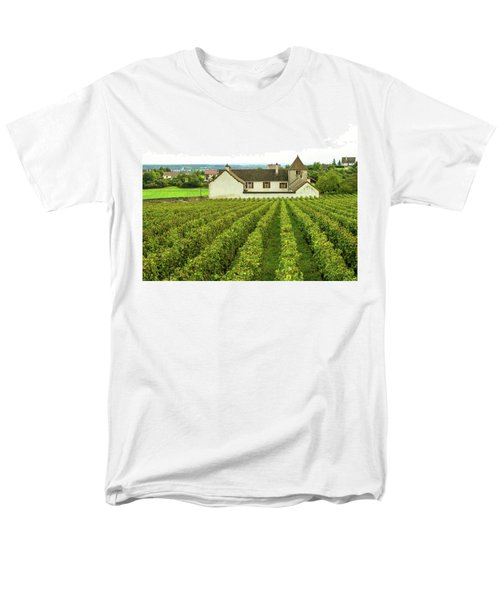 Vineyard In France Men's T-Shirt  (Regular Fit) by Jim Mathis
