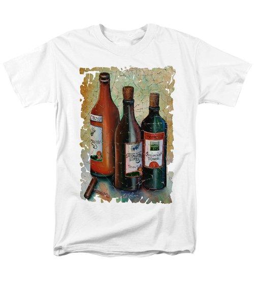 Vintage Georgian Wine Fresco Men's T-Shirt  (Regular Fit) by Lena  Owens OLena Art