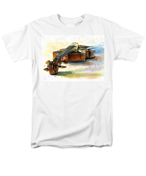 Violin 2 Men's T-Shirt  (Regular Fit) by John D Benson