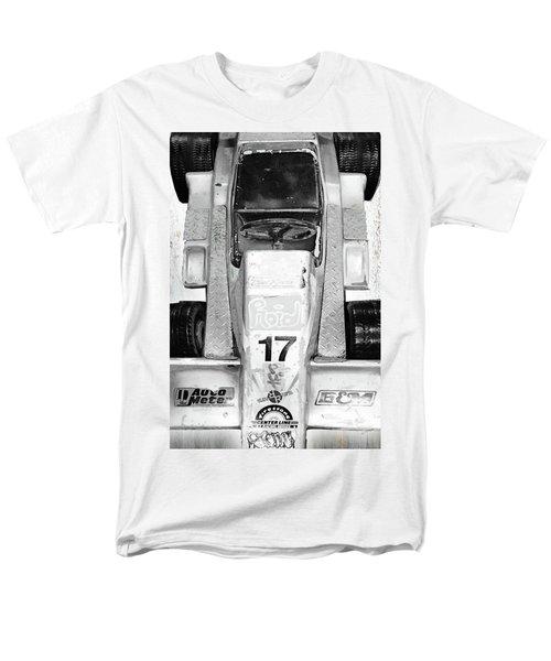 Men's T-Shirt  (Regular Fit) featuring the mixed media Vroom by Tony Rubino