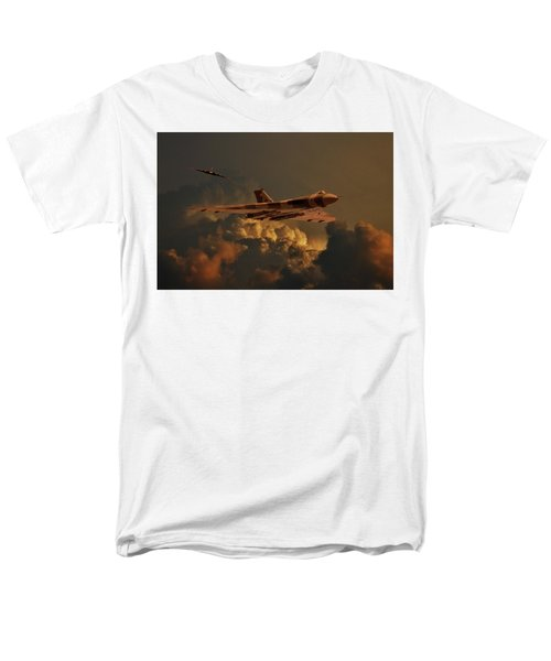 Vulcan Bombers Into The Storm Men's T-Shirt  (Regular Fit) by Ken Brannen