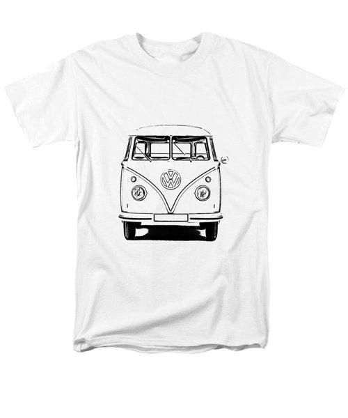 Vw Bus T-shirt Men's T-Shirt  (Regular Fit) by Edward Fielding