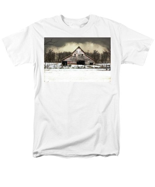 Men's T-Shirt  (Regular Fit) featuring the photograph Waiting For The Storm To Pass by Julie Hamilton