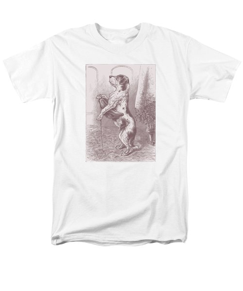 Men's T-Shirt  (Regular Fit) featuring the drawing Walkies? by David Davies