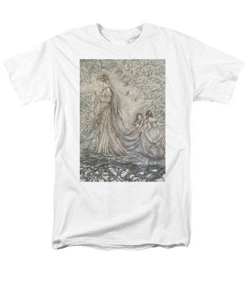 Walking In The Magic Garden Men's T-Shirt  (Regular Fit) by Rita Fetisov