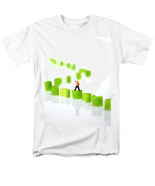 Walking On Celery  Men's T-Shirt  (Regular Fit) by Paul Ge
