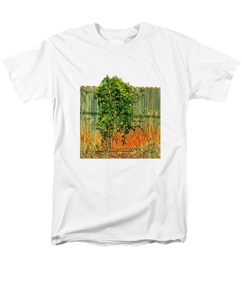 Wall Of Jasmine Men's T-Shirt  (Regular Fit) by Larry Bishop