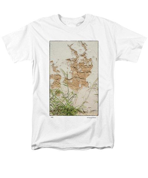 Wall Men's T-Shirt  (Regular Fit) by R Thomas Berner