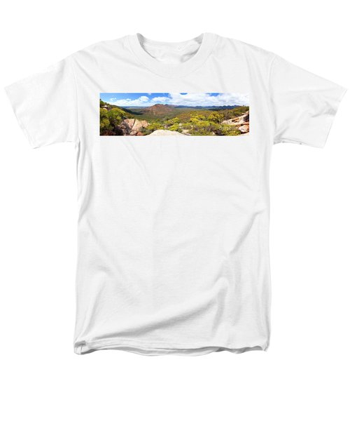 Men's T-Shirt  (Regular Fit) featuring the photograph Wangara Hill Flinders Ranges South Australia by Bill Robinson