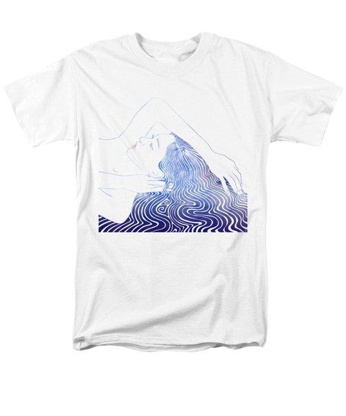 Water Nymph Lxxix Men's T-Shirt  (Regular Fit) by Stevyn Llewellyn