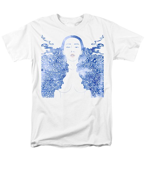 Water Nymph Lxxx Men's T-Shirt  (Regular Fit) by Stevyn Llewellyn