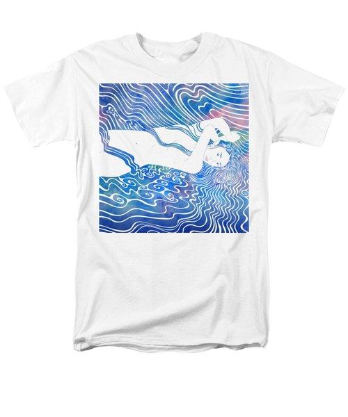 Water Nymph Lxxxiii Men's T-Shirt  (Regular Fit) by Stevyn Llewellyn