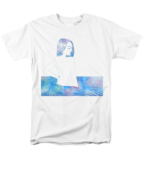 Water Nymph Lxxxiv Men's T-Shirt  (Regular Fit) by Stevyn Llewellyn