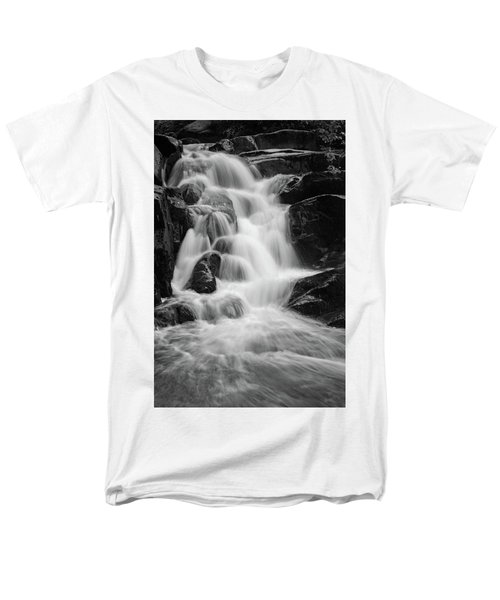 water stair close to the Heinrich Heine hiking way, Harz Men's T-Shirt  (Regular Fit) by Andreas Levi