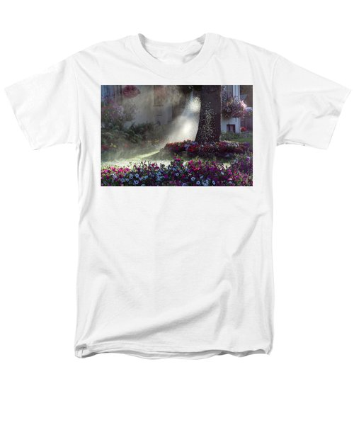 Watering The Lawn Men's T-Shirt  (Regular Fit) by Keith Boone