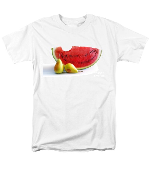 Watermelon And Pears Men's T-Shirt  (Regular Fit) by Carlos Caetano