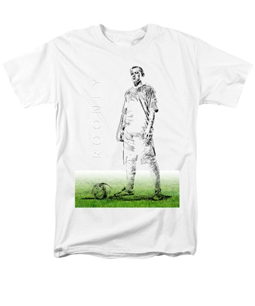 Wayne Rooney Men's T-Shirt  (Regular Fit) by ISAW Gallery