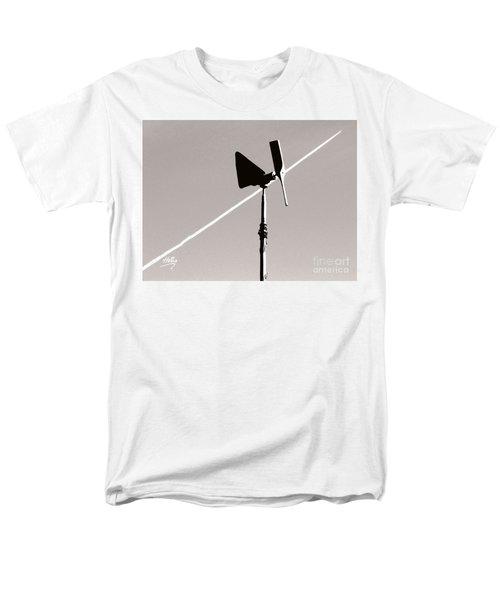 Men's T-Shirt  (Regular Fit) featuring the photograph Weather Vane by Linda Hollis