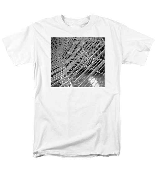 Web Wired Men's T-Shirt  (Regular Fit) by Cathy Dee Janes
