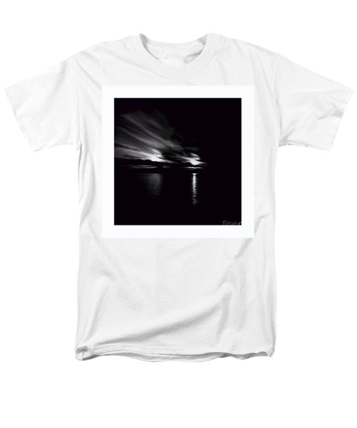 Welcome Beach Night Sky Men's T-Shirt  (Regular Fit) by Elaine Hunter