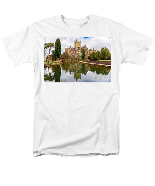 Wells Cathedral Men's T-Shirt  (Regular Fit) by Colin Rayner