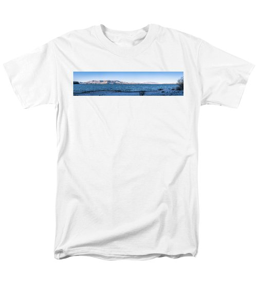 Men's T-Shirt  (Regular Fit) featuring the photograph West Almanor Blue by Jan Davies